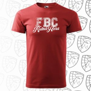 Tričko - Retro - červené